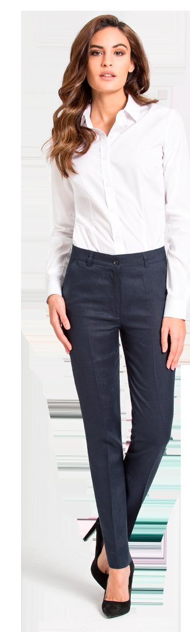 pantalon femme blau sur mesure
