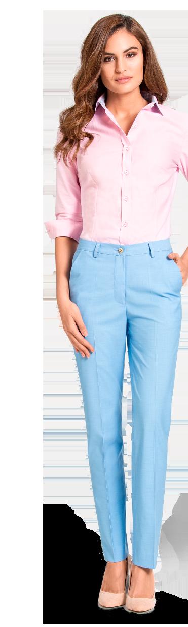 pantalon blau femme sur mesure