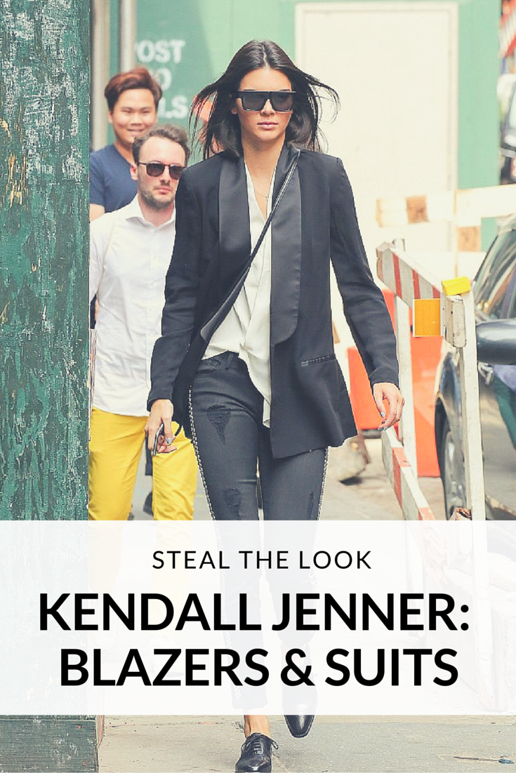 Get Kendall Jenner's Blazers & Suits