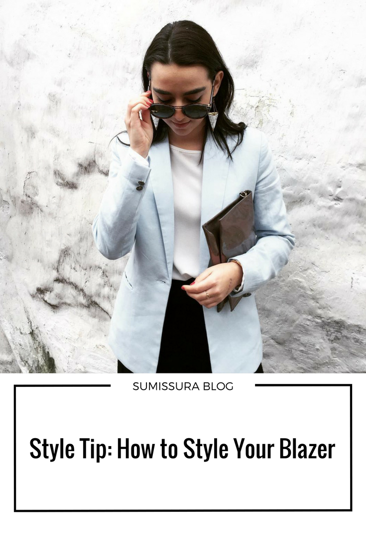 4 Tips to How to Style Your Blazer