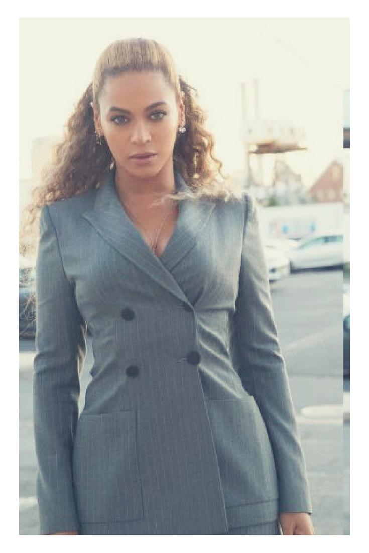 Beyoncé: NYC Power Suit