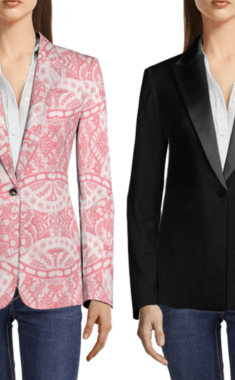 Dress for Your Holiday Office Party: Blazer Edition