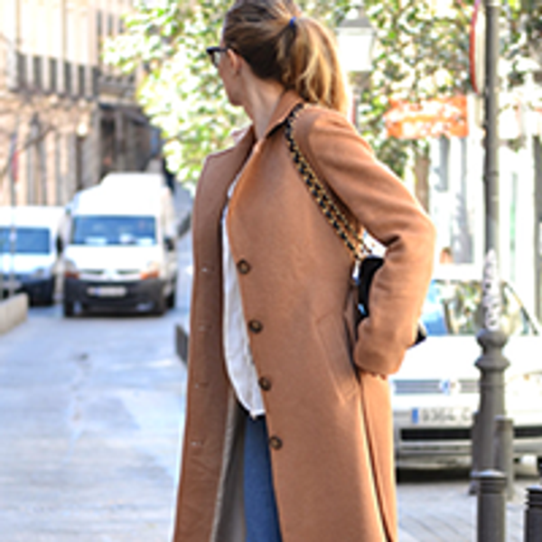 The Long Camel Coat. A Must Have.