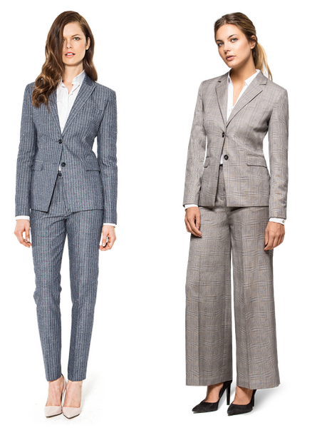 Stop comparing yourself - Pantsuits for all Different Women Shapes