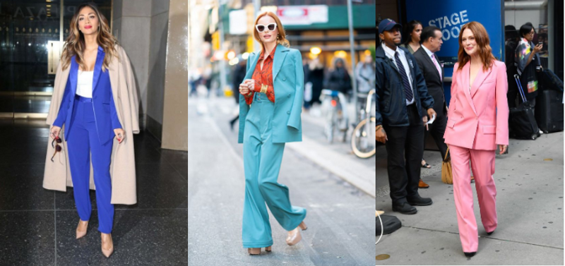 Color Women Suits for Business and Casual