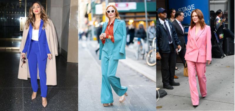 Trajes de mujer llenos de Color - Business & Casual