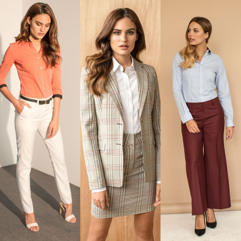 Chic spring outfits for work