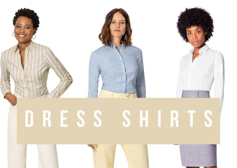 Dress shirts for women
