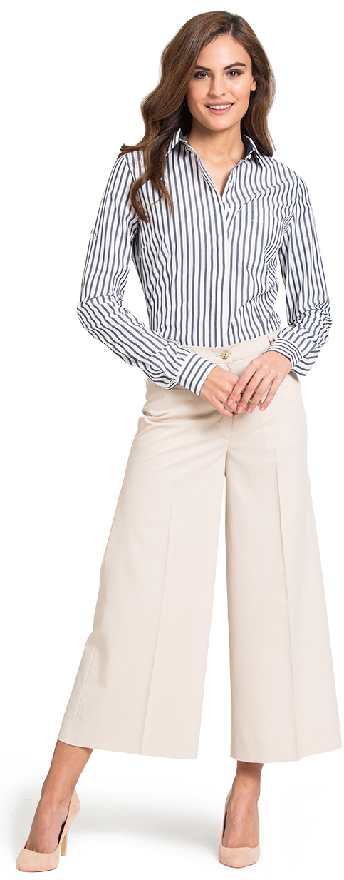 womens wide leg business pants