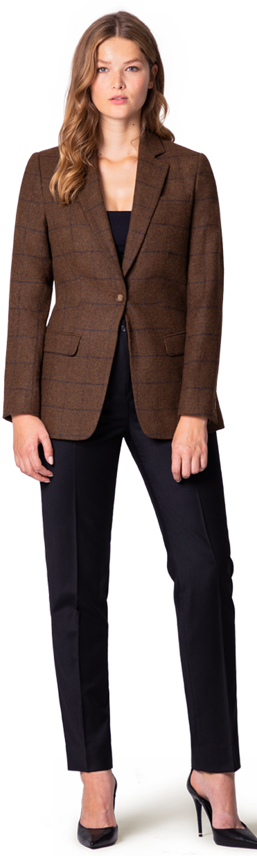 tweed blazer for suit