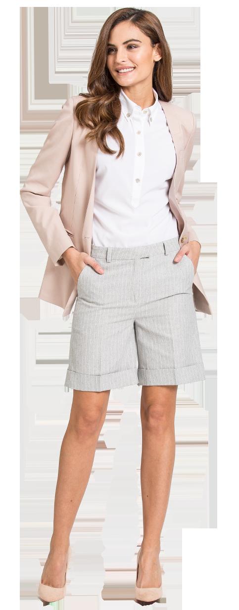 traje pantalon corto