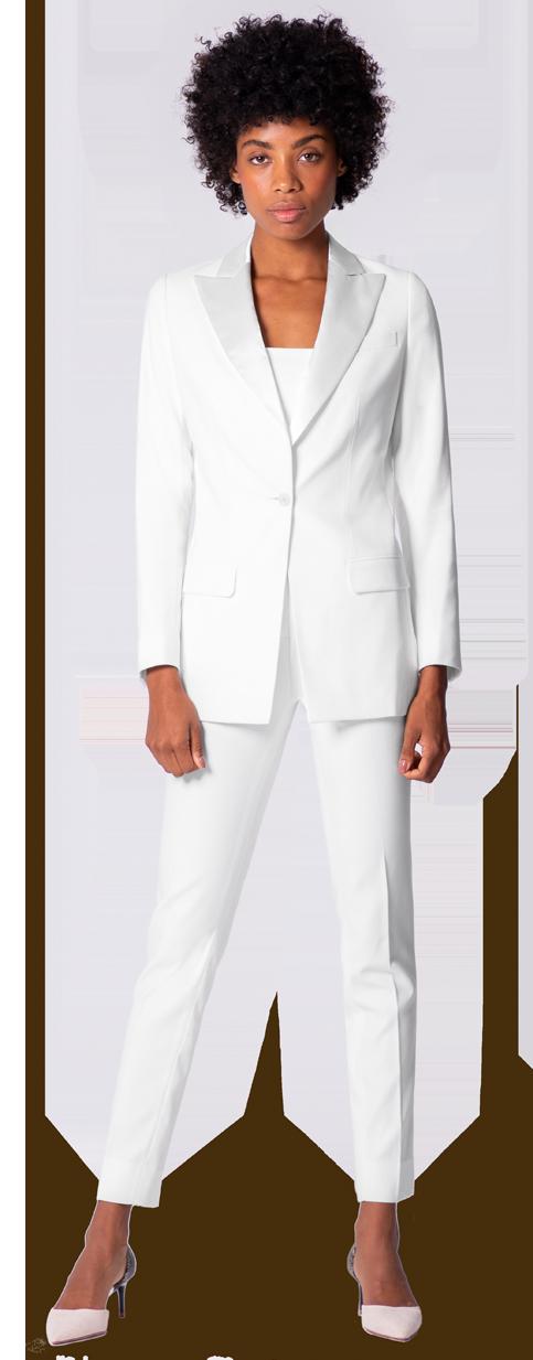 Custom Tailored Women Tuxedos 150 Fabric Options Sumissura