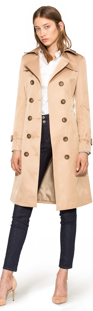 separation shoes d36ec ad8eb Women's Trench Coats - Tailor Made - $199