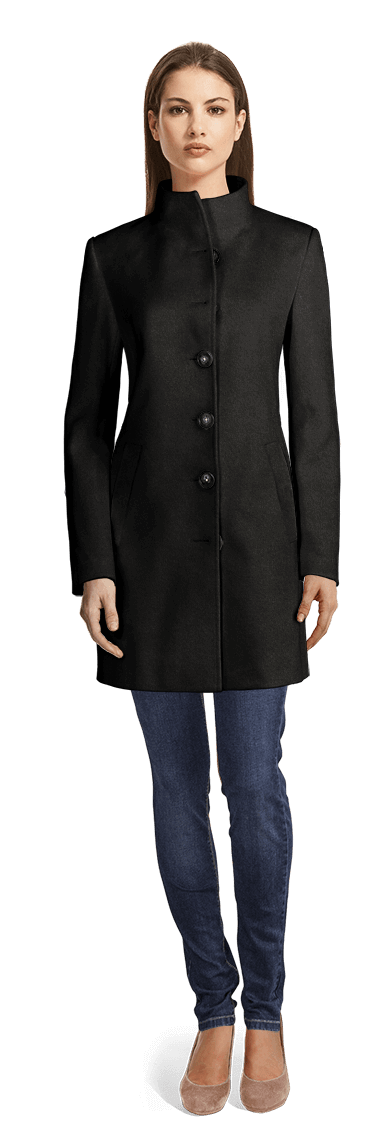 Standup Collar Coat