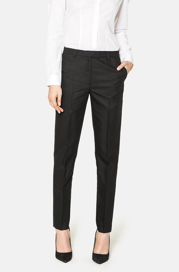 Buy Smart trousers from the Womens department at Debenhams. You'll find the widest range of Smart trousers products online and delivered to your door. Shop today! Navy pinstriped tailored trousers Save. Was £ Now £ The Collection Petite Black straight leg petite suit trousers Save. Was £ Now £